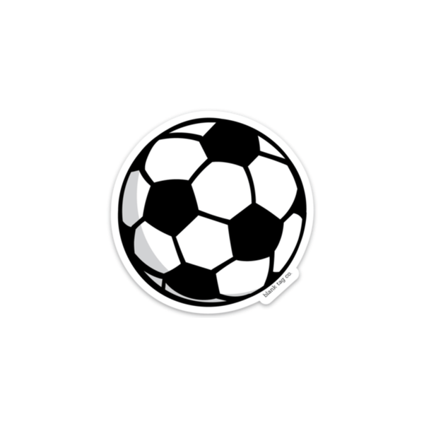 The Soccer Ball Sticker - Product Image