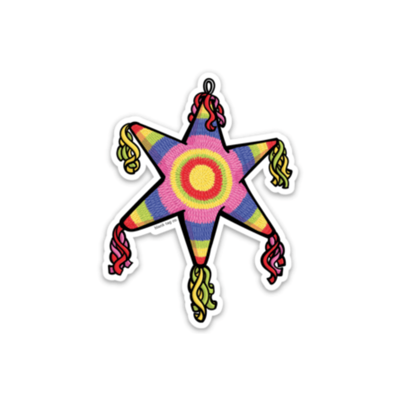 The Star Pinata Sticker - Product Image