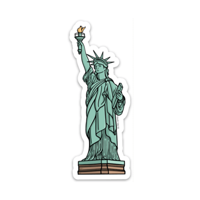 The Statue of Liberty Sticker - Product Image