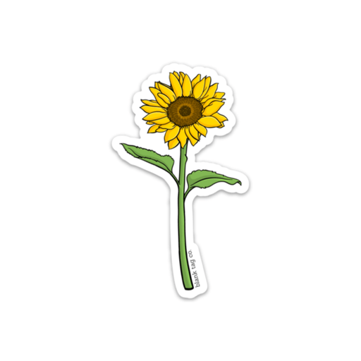 The Sunflower Sticker - Product Image