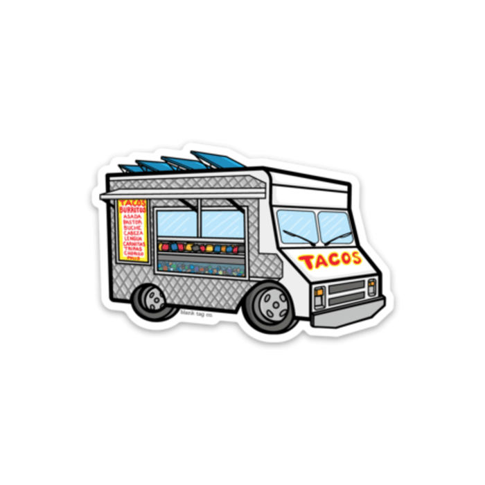 The Taco Truck Sticker - Product Image