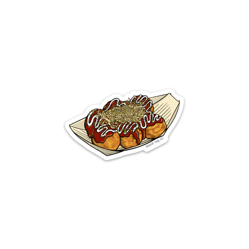 The Takoyaki Sticker - Product Image