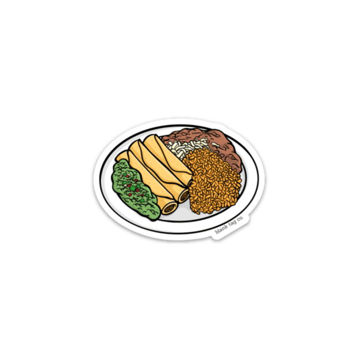 The Taquitos Sticker - Product Image
