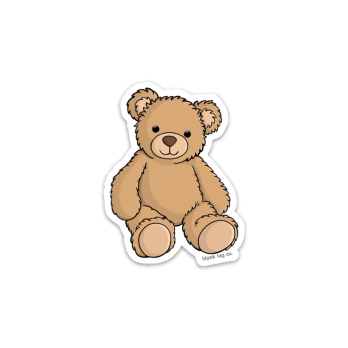 The Teddy Bear Sticker - Product Image