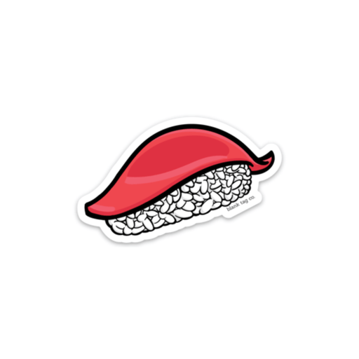 The Tuna Sushi Sticker - Product Image