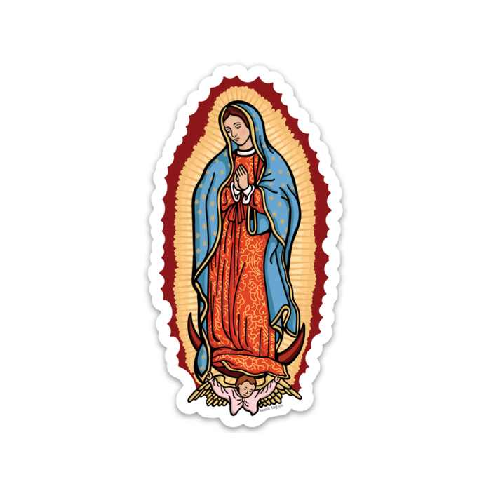 The Virgen De Guadalupe Sticker - Product Image