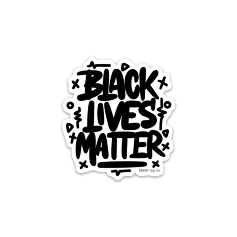 The Black Lives Matter Sticker