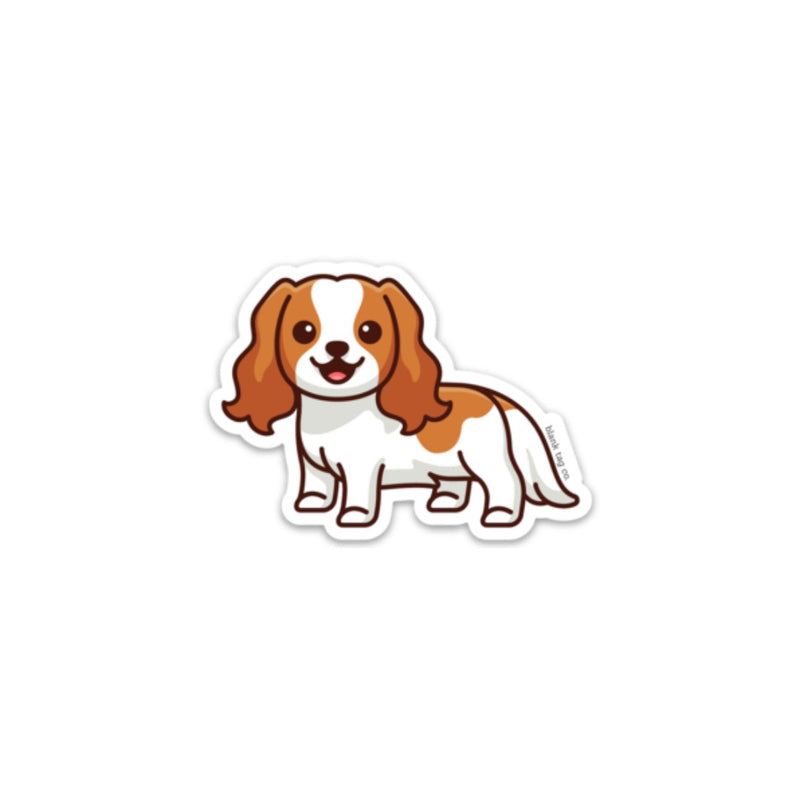 The Cavalier King Charles Spaniel Sticker