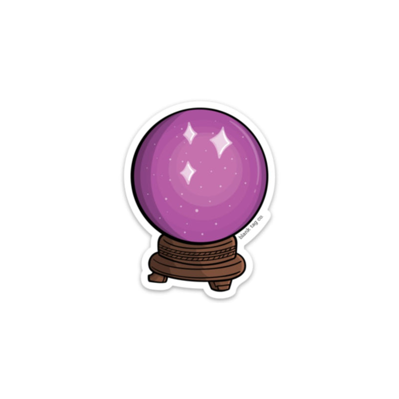 The Crystal Ball Sticker