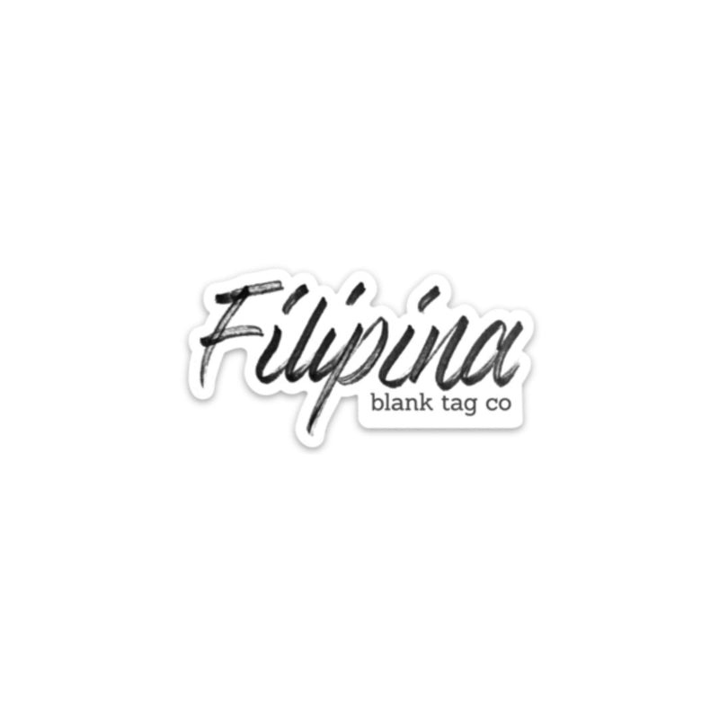 The Filipina Sticker