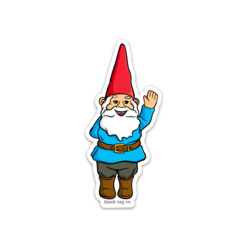 The Garden Gnome Sticker