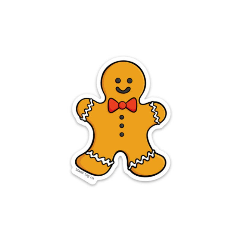 The Gingerbread Man Sticker