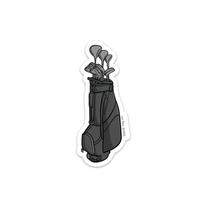 The Golf Clubs Sticker