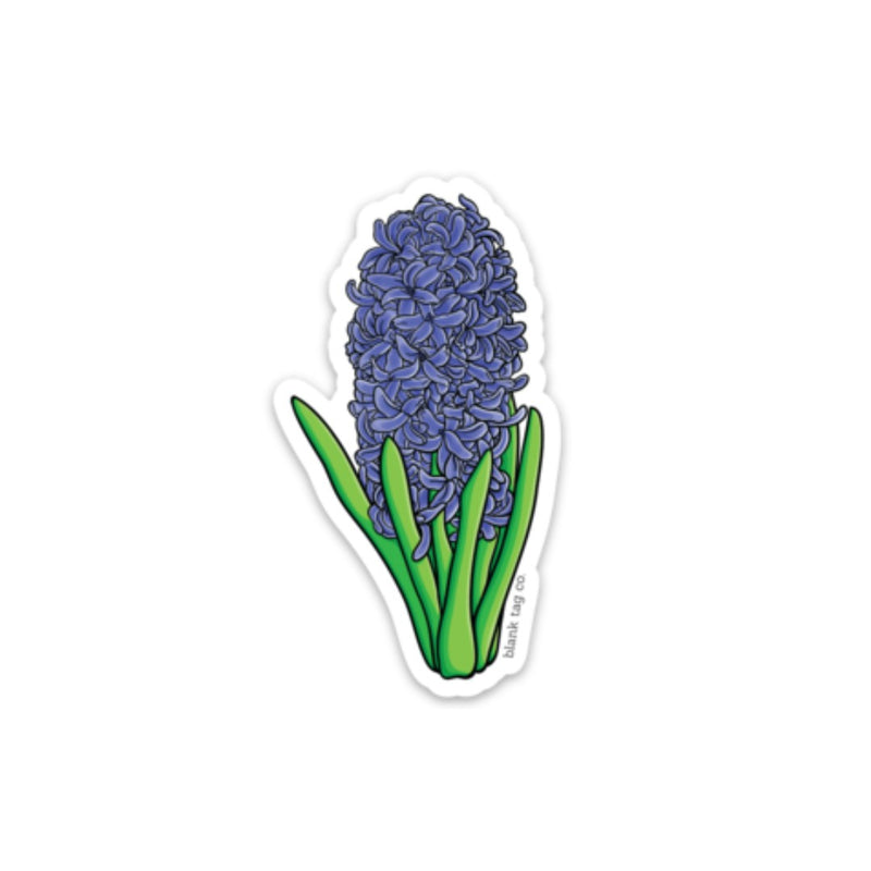 The Hyacinth Sticker