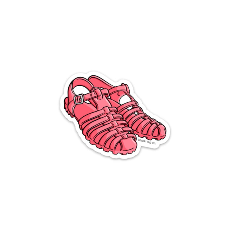 The Jelly Shoes Sticker