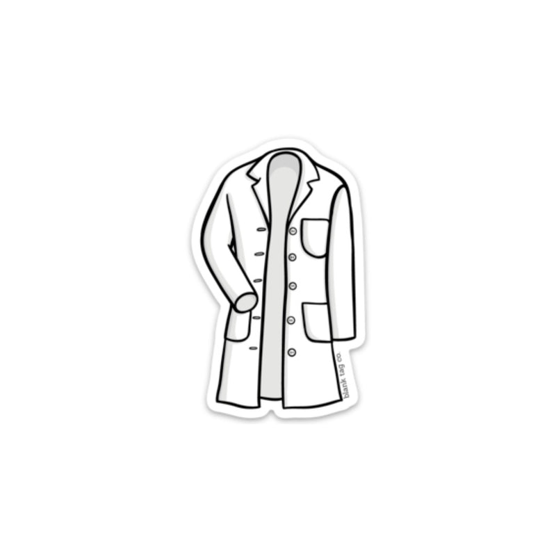 The Lab Coat Sticker