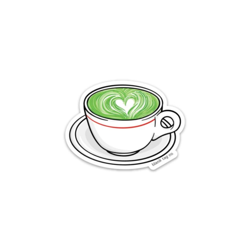 The Matcha Latte Sticker