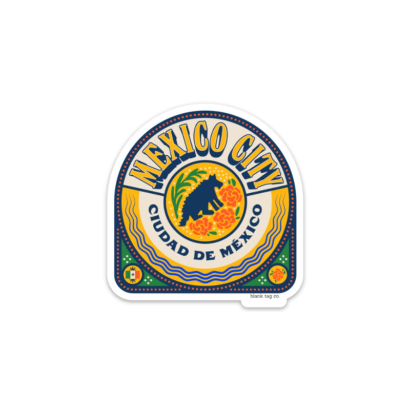 The Mexico City Badge Sticker