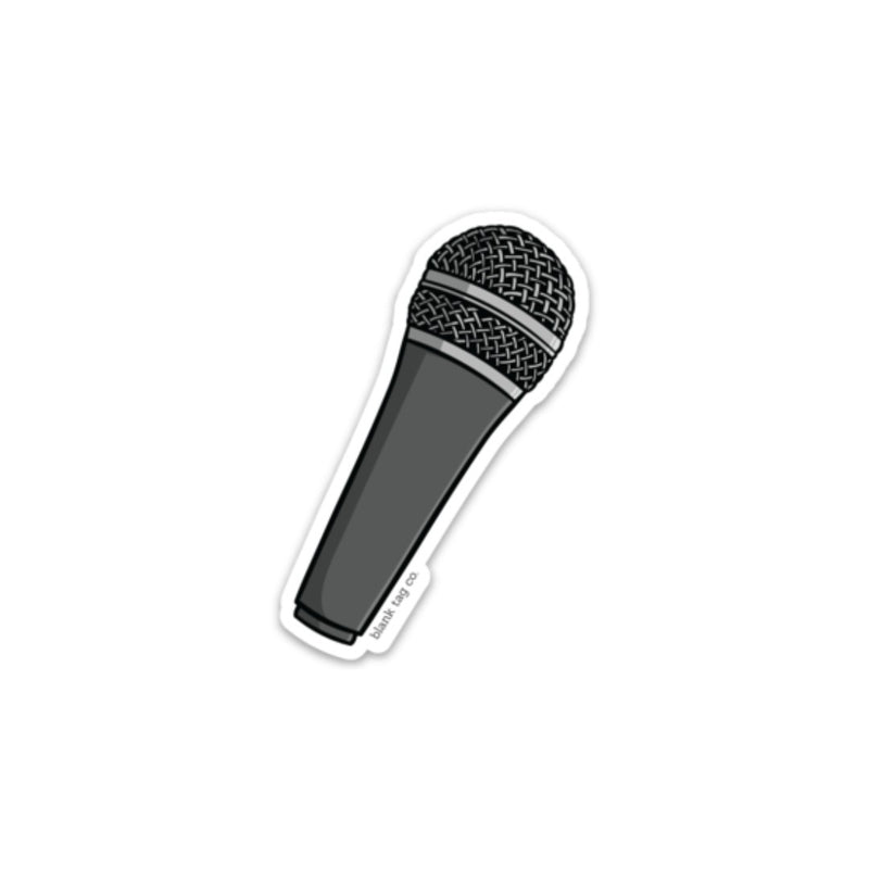 The Microphone Sticker