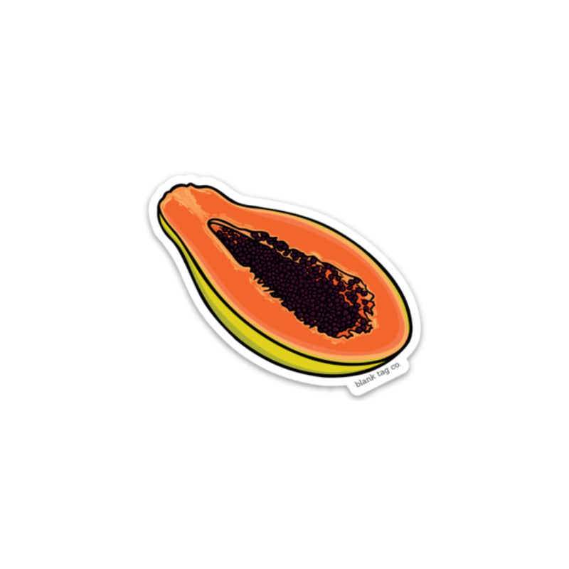 The Papaya Sticker