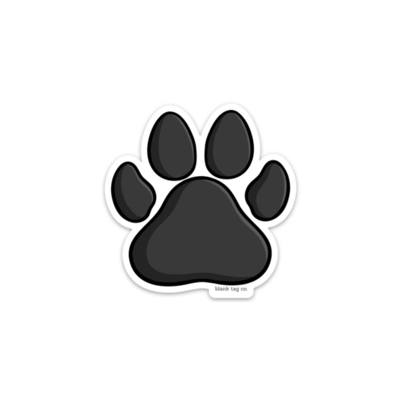 The Paw Print Sticker