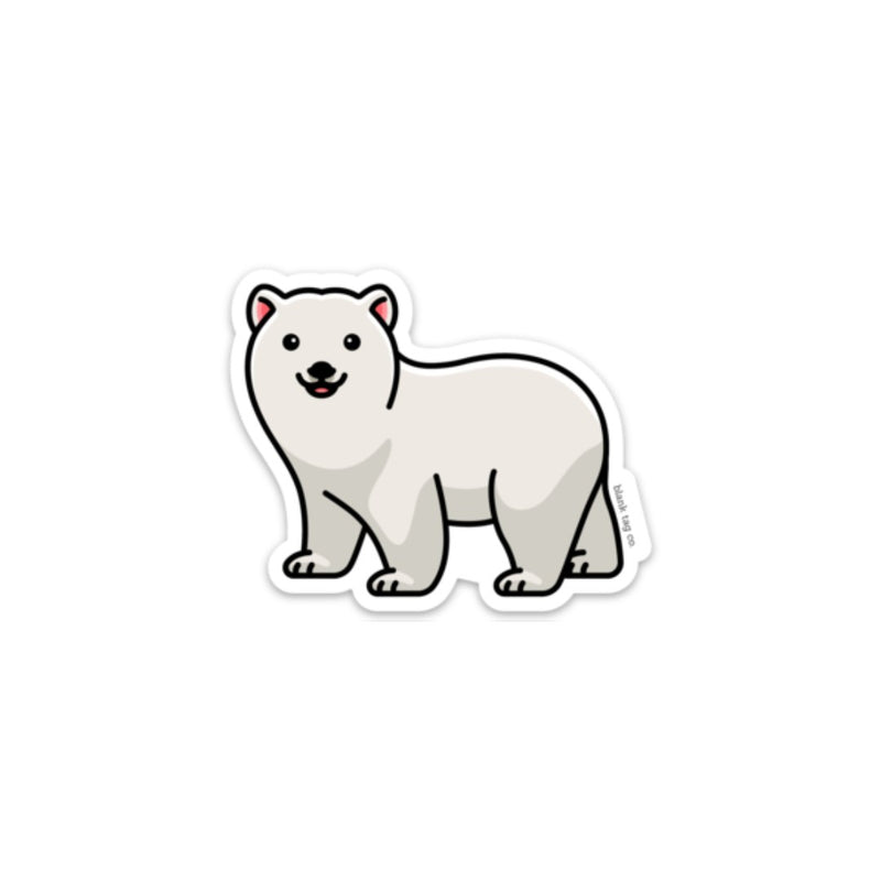 The Polar Bear Sticker