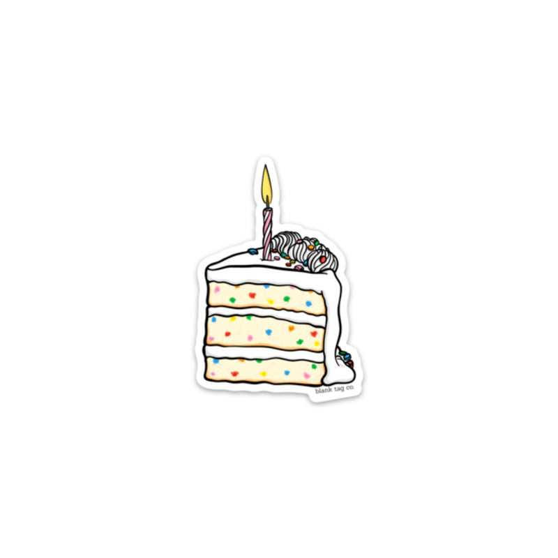 The Slice of Birthday Cake Sticker