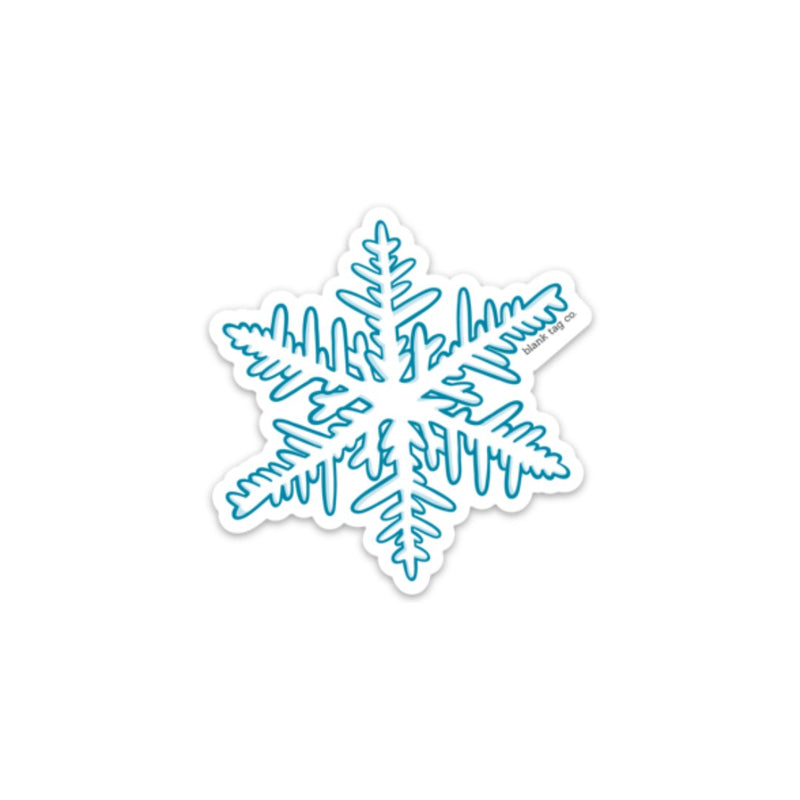 The Snowflake Sticker