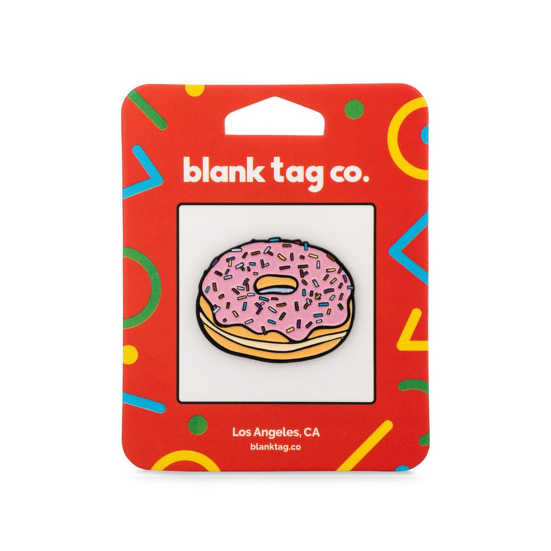 The Sprinkled Donut Enamel Pin