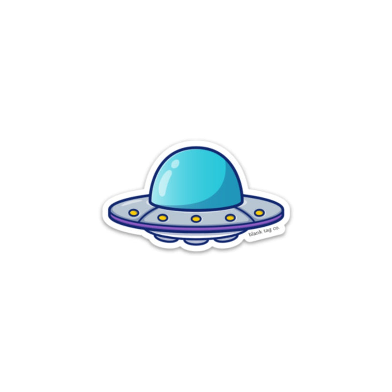 The UFO Sticker