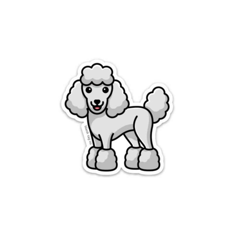 The Poodle Sticker