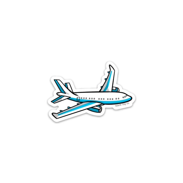The Airplane Sticker