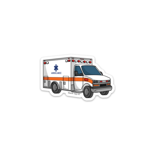 The Ambulance Sticker