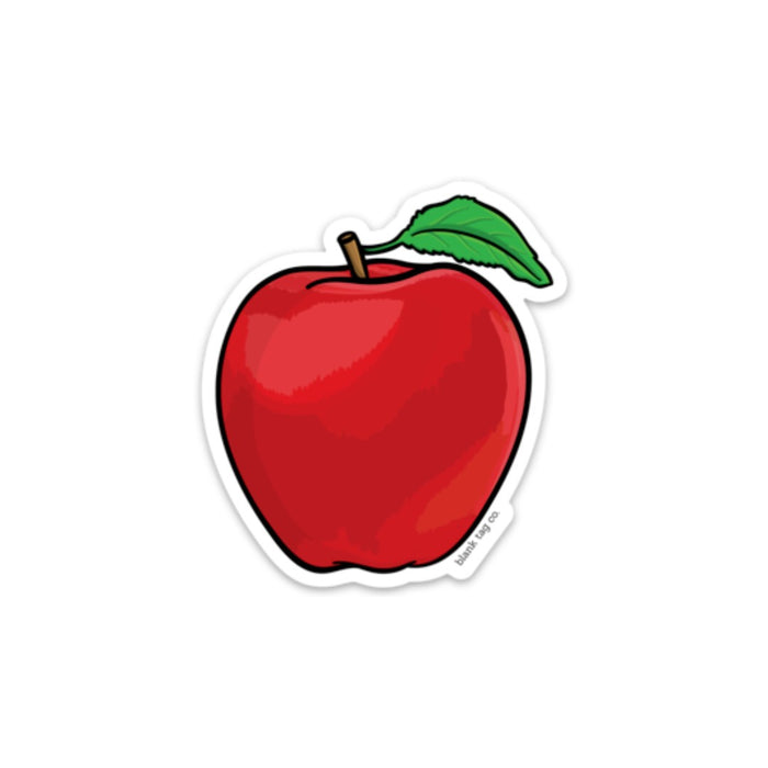 The Apple Sticker  U2014 Blank Tag Co