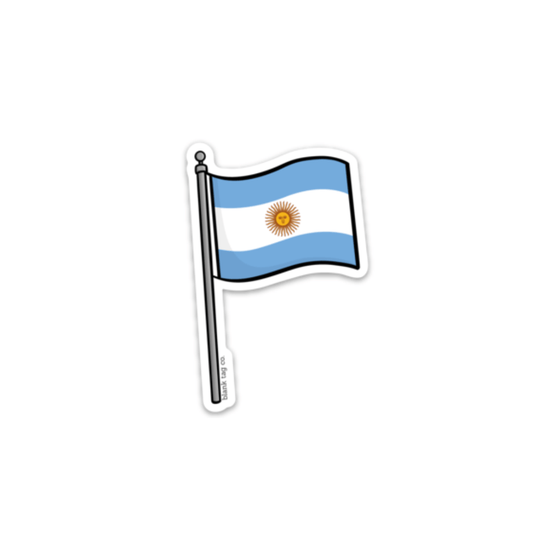 The Argentina Flag Sticker