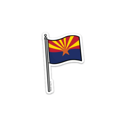 The Arizona Flag Sticker