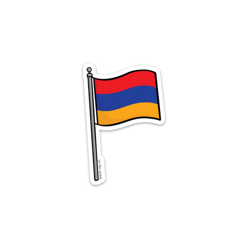 The Armenia Flag Sticker