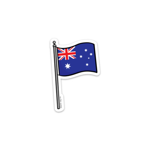 The Australia Flag Sticker