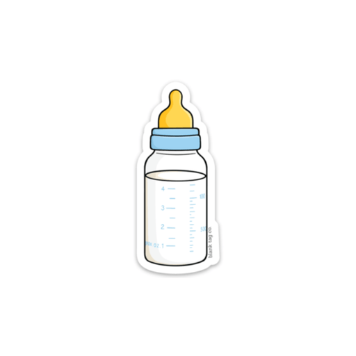 The Baby Bottle Sticker