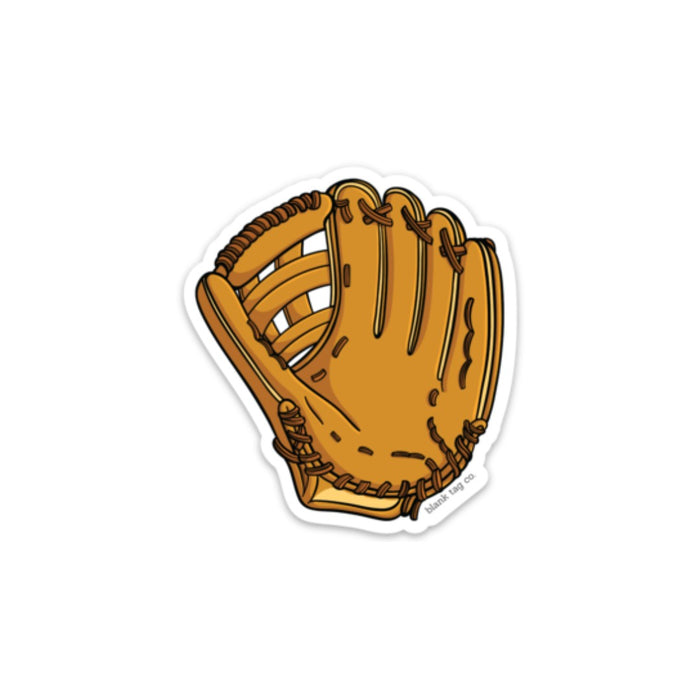 The Baseball Mitt Sticker