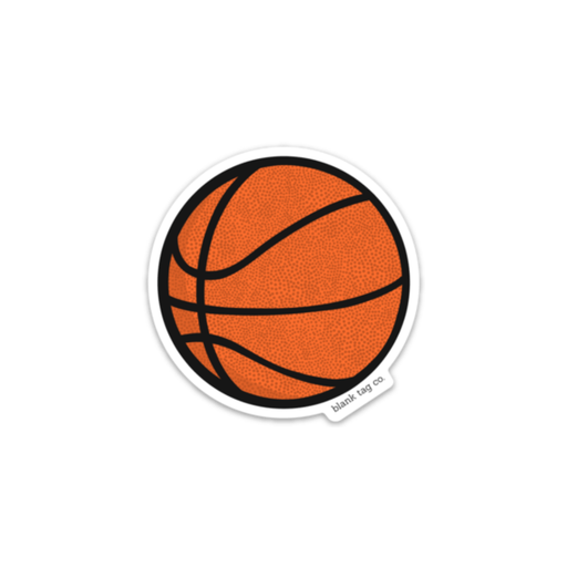 The Basketball Sticker