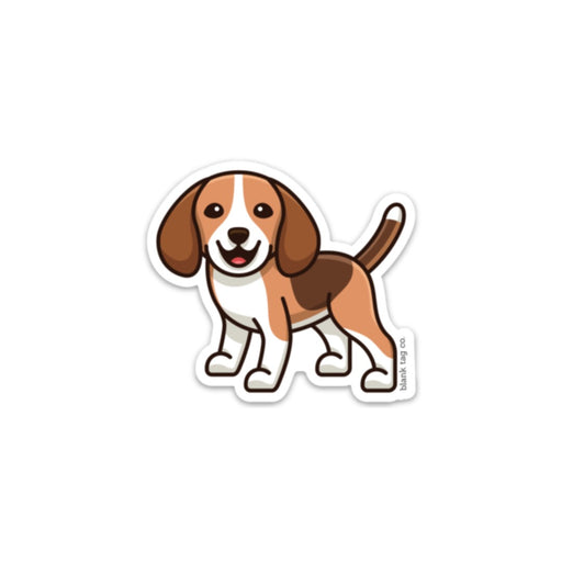 The Beagle Sticker