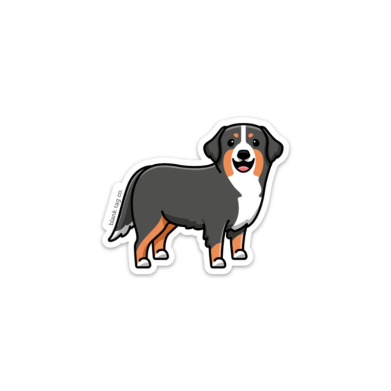 The Bernese Mountain Dog Sticker