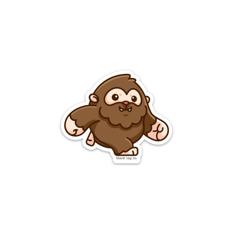 The Bigfoot Sticker