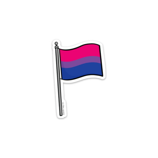 The Bisexual Pride Flag Sticker