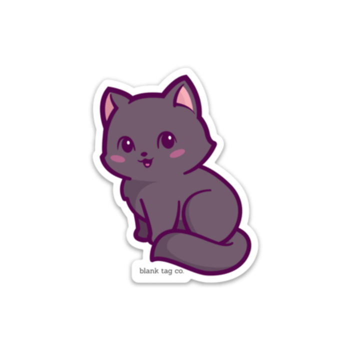 The Black Cat Sticker