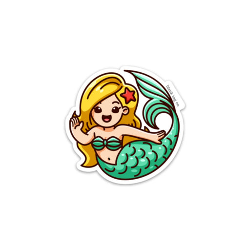 The Mermaid Sticker