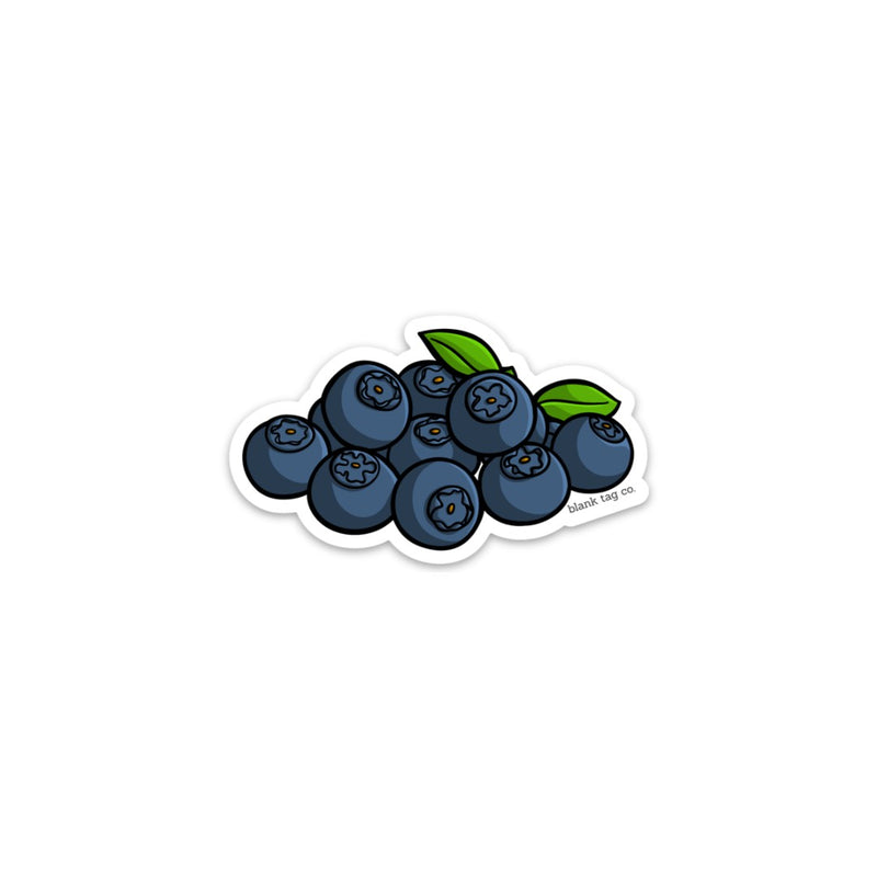 The Blueberries Sticker