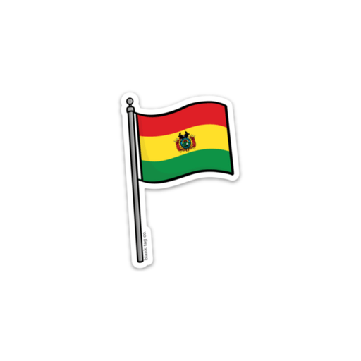 The Bolivia Flag Sticker