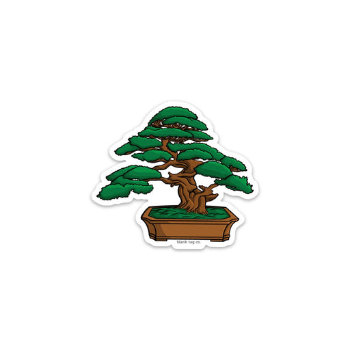 The Bonsai Tree Sticker